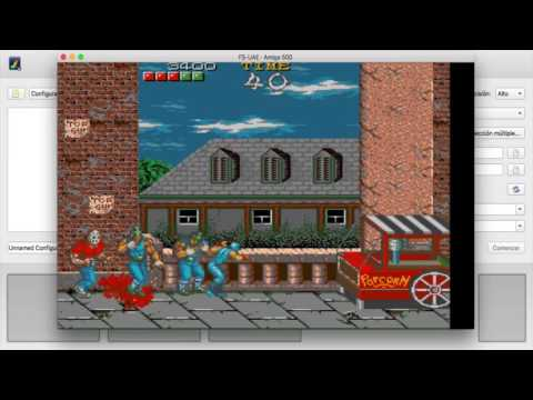 SHADOW WARRIORS in AmigaLive project