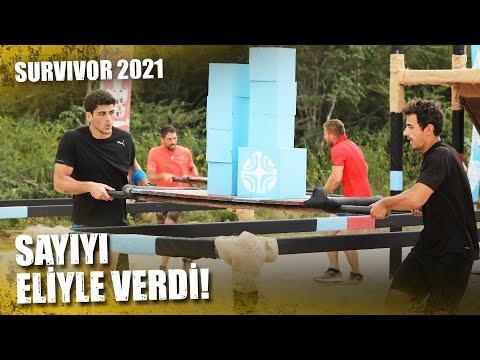 Ödül Oyununda Kıran Kırana Mücadele | Survivor 2021