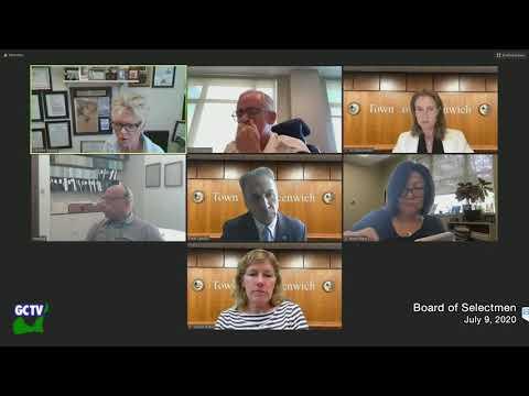 Board of Selectmen Special Meeting, August 5, 2020