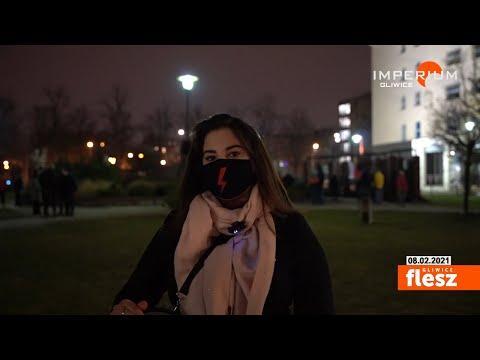 Flesz Gliwice / Protesty kobiet nie ustają