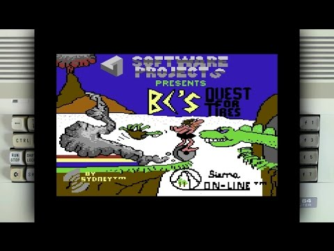 BC's Quest for Tires on the Commodore 64