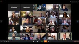 Reunión virtual de diputadas y diputados con la comunidad artística