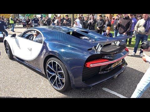 $3.4 Million Bugatti Chiron – Roaring Engine Sounds!