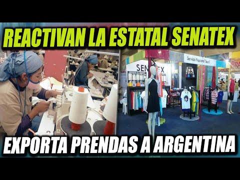 Reactivan la Estatal Senatex y exportan prendas de vestir a Argentina por Bs. 460.000