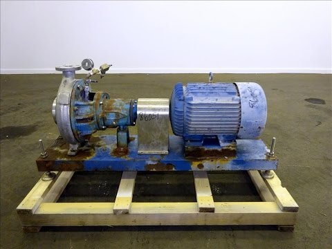 Used- Durco Centrifugal Pump, Size 3X2-13/130 - stock # 86051