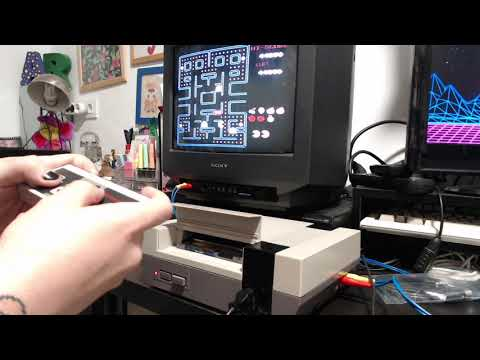 NES Pac-Man - 131,850 points