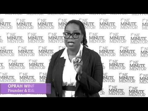 Hearst One Minute Mentor: Oprah Winfrey on Innovation