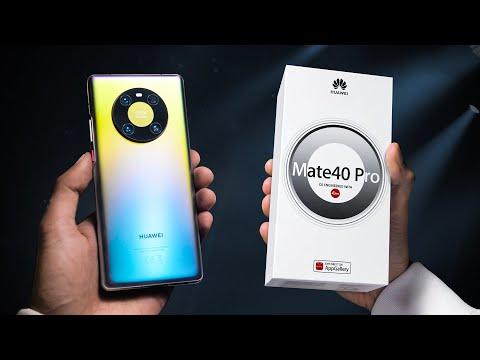 Huawei Mate 40 Pro Unboxing - WHAT.