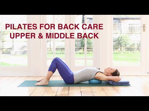 Pilates For Back Care - Upper & Middle Back 25 mins