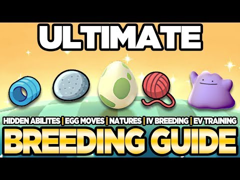 connectYoutube - ULTIMATE Breeding Guide IVs, EVs, Natures, Egg Moves Pokemon Ultra Sun and Moon | Austin John Plays