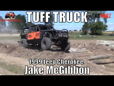 Jake McGibbon 1999 Jeep Cherokee First Round Street Stock Class Minto Tuff Truck Challenge 2018