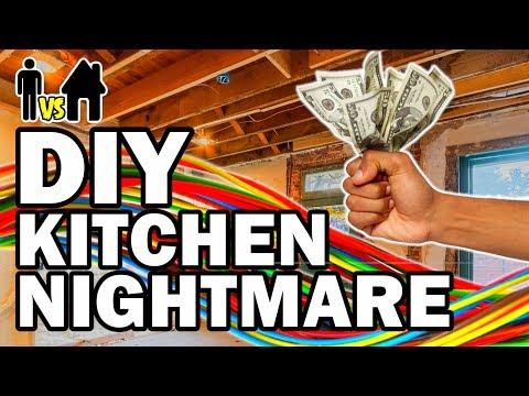 connectYoutube - DIY Kitchen Nightmare - Man Vs House Ep.#3