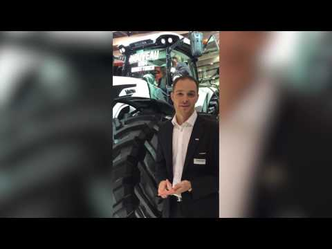 Valtra Launches New A104 HiTech at SIMA