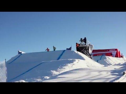WC Ski Cross 2016 Idre Fjäll
