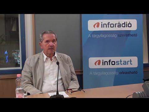 InfoRádió - Aréna - Kiss J. László - 2021.08.23.