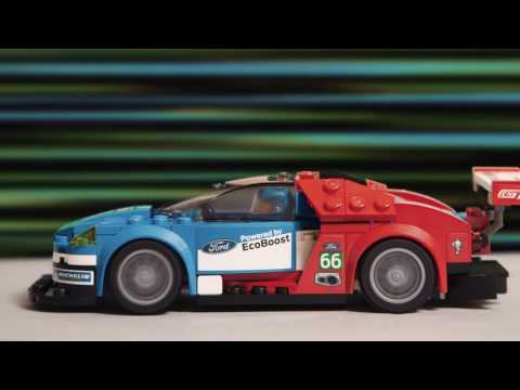 LEGO Speed Champions Ford GT Vs Ford GT40