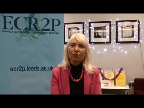 International Conference on the R2P, Peace and Security - Ambassador Blanka Jamnišek