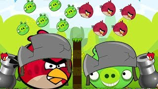 Angry Birds Collection Cannon 1 - THROW STONE AND BLAST THE BAD PIGS!