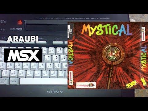 Mystical (New Frontier, 1991) MSX [455] Walkthrough Comentado