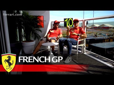 """French GP - Parlez-vous Formule 1"""" Lesson no. 1 for Seb from Professeur Charles"""
