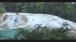 Agua Azul Waterfall in Chiapas Mexico