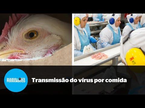 OMS descarta transmissão da Covid-19 por alimentos