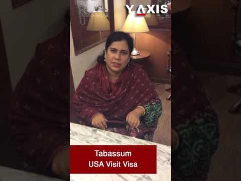 Tabassum USA Visit Visa PC B Sandeep
