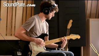 K Line Springfield Black Electric Guitar Demo