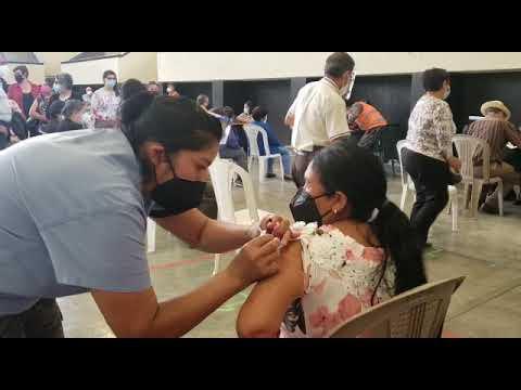 Aperturan horario nocturno de vacunación en Huehuetenango