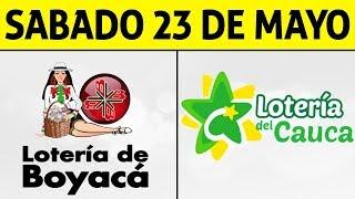 Resultados Lotería de BOYACÁ y CAUCA Sábado 23 de Mayo de 2020   PREMIO MAYOR ????????????
