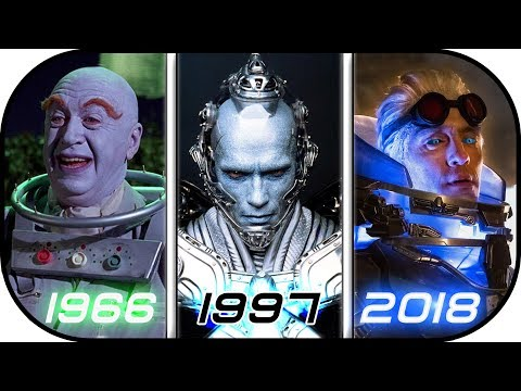 EVOLUTION of MR FREEZE in Live Action Movies & TV series (1966-2018) Batman vs mr freeze history