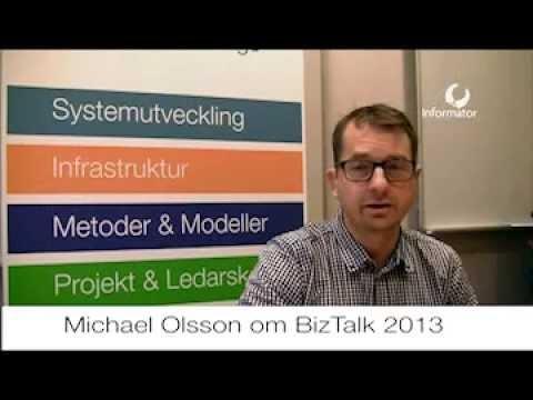 Michael Olsson från iBiz Solutions pratar BizTalk 2013
