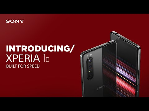 Introducing Xperia 1 II