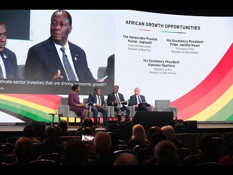 Panel «Future African Growth Sectors », animée par SEM Alassane Ouattara