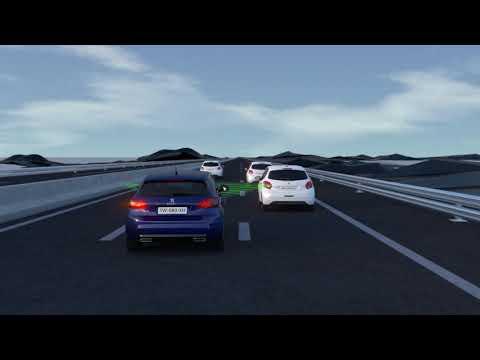 Peugeot 308 - Adaptiv fartpilot