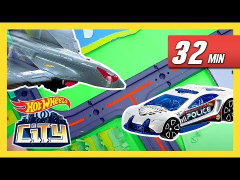 Draven's Causing Chaos in Hot Wheels City! | Hot Wheels City | Hot Wheels