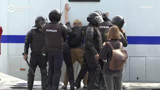 Сотни задержанных на