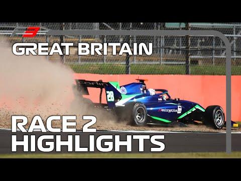 F3 Race 2 Highlights | 2020 British Grand Prix