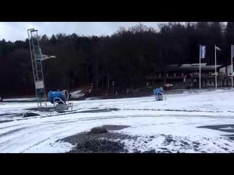 Dags för snöläggningspremiär!