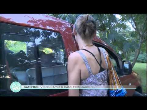 Gamping - Reportage M6 100%Mag du 3 octobre 2014