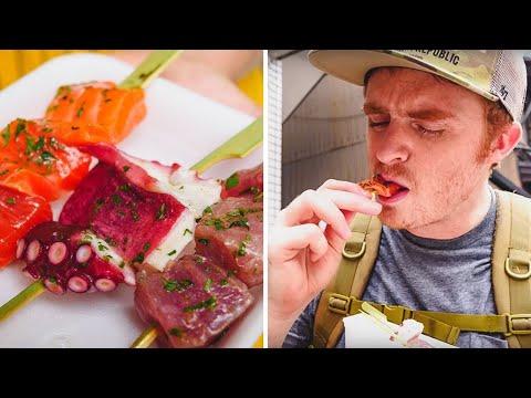 Kyoto Street Food | Tour of Nishiki Market, Japan