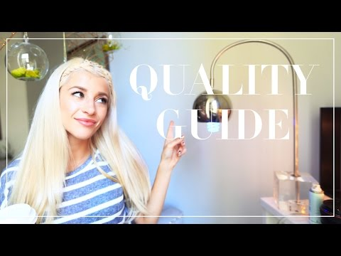 How To Shop For High Quality Clothes   Fabric Guide