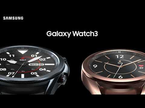 Galaxy Watch3: Et smartere smartwatch   Samsung
