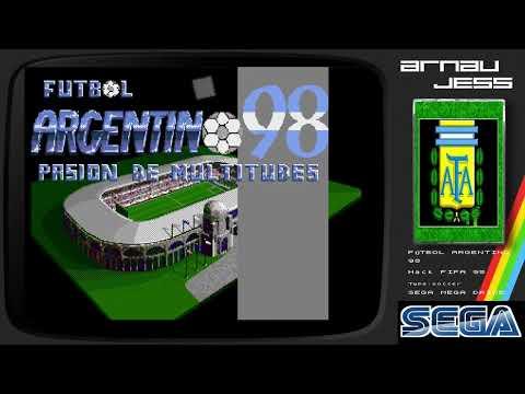 FÚTBOL ARGENTINO 98 Sega Mega Drive