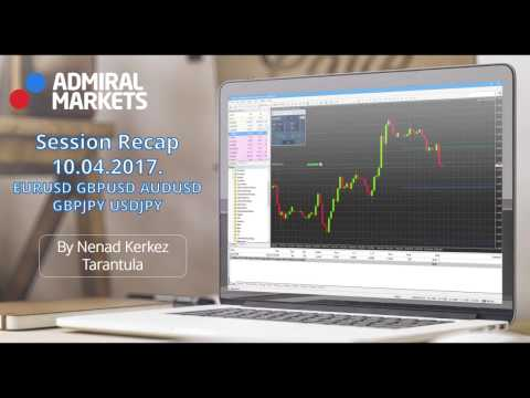 Weekly FX Recap: EUR/USD, GBP/USD, AUD/USD and more (April 10, 2017)