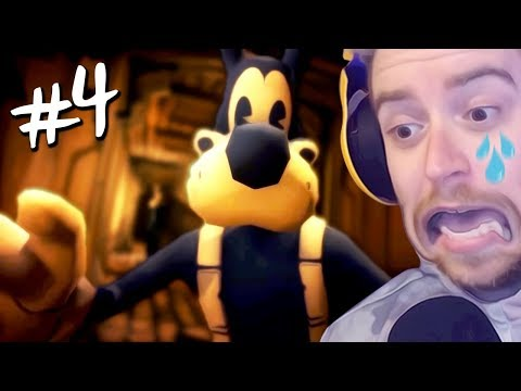 connectYoutube - NÃO MEXE COM MEU BORIS | Bendy & The Ink Machine #4