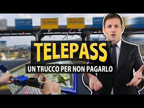 Telepass: IL TRUCCO PER NON PAGARE il pedaggio | avv. Angelo Greco