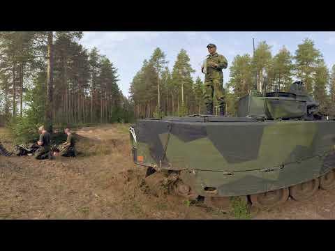 Försvarsmakten i 360 VR - Melissa Norrbottens regemente