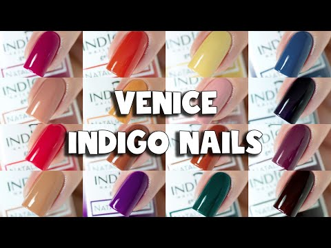Indigo Nails Venice Collection Gel Polish Swatches