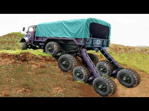 YOU'VE NEVER SEEN MONSTER MACHINES LIKE THESE BEFORE